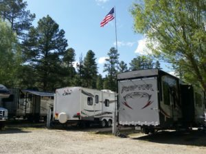 New Mexico RV Parks - Rainbow Lake, Ruidoso