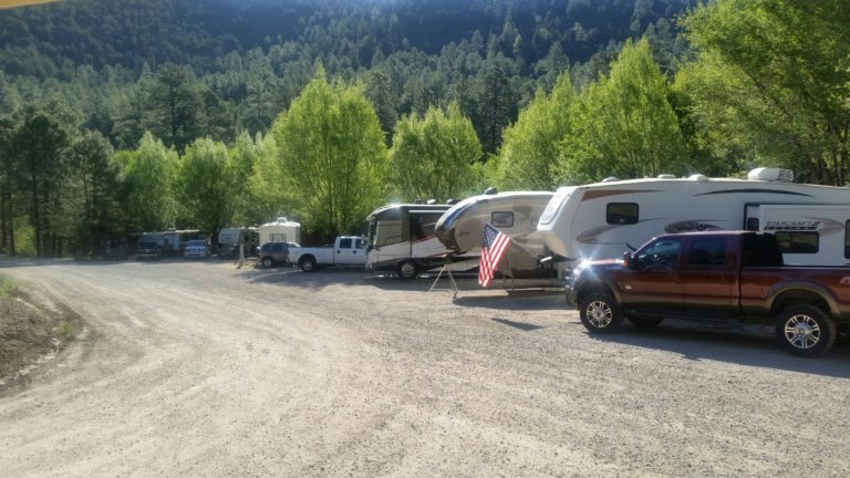 RV camping in New Mexico