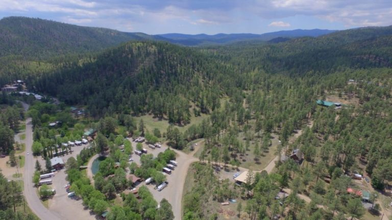 RV Park in Ruidoso New Mexico