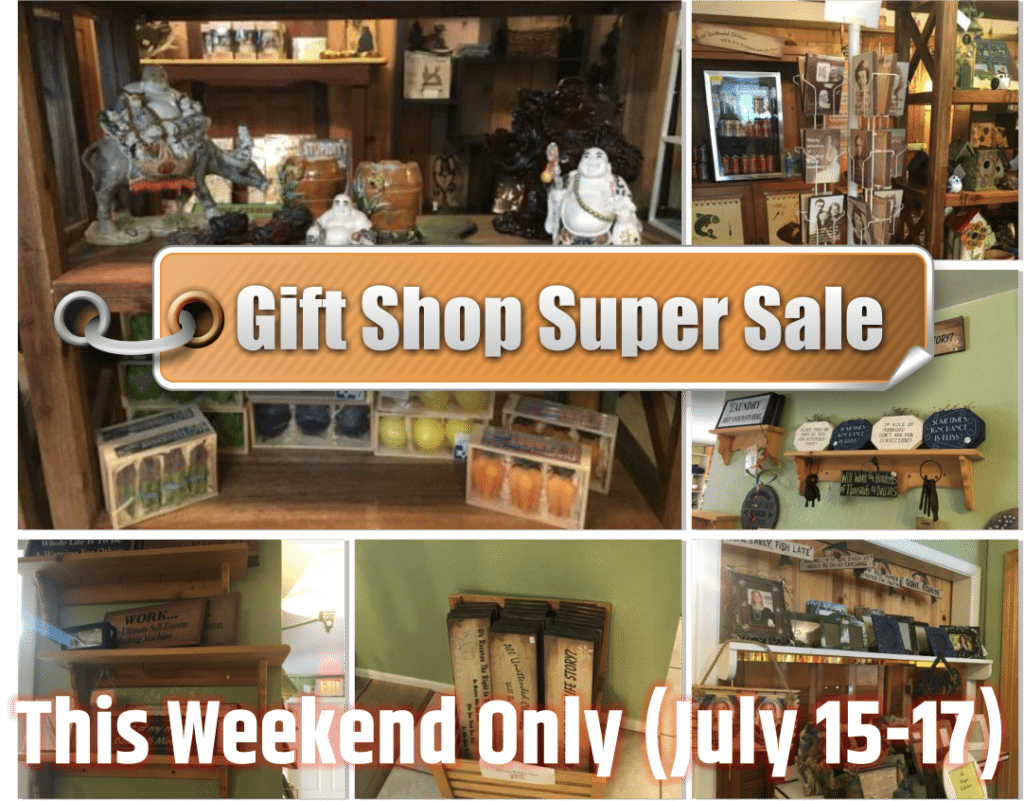 Gift Shop Super Sale: This Weekend Only!