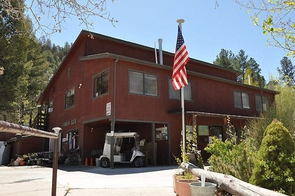 Cabin and RV Space Rental in Ruidoso